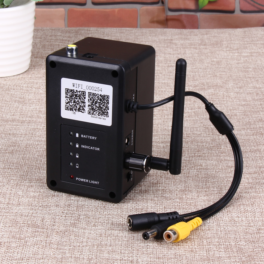 Fish Finder 2.4G WIFI Wireless Waterproof Underwater Fishing Video Camera 1000TVL for Aquaculture Underwater Exploration Fishing