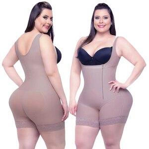Image 1 - בגד גוף  חגורת הרזיה  מעצב Shapewear הרזיה גוף תחתוני מחוך נשים דוגמנות רצועת מותן מאמן מלא גוף Shaper התחת מרים בקרת בגד גוף