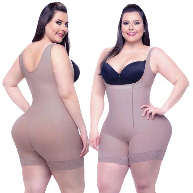 בגד גוף  חגורת הרזיה  מעצב Shapewear הרזיה גוף תחתוני מחוך נשים דוגמנות רצועת מותן מאמן מלא גוף Shaper התחת מרים בקרת בגד גוף