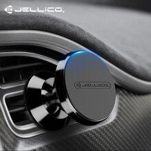 Jellico магнитный автомобильный держатель для телефона для iPhone samsung 360 Air Mount магнитный держатель для мобильного телефона в автомобиле gps универсальные держатели