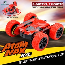 Rc Car Electric Race Double Sided 360 Degree 2.4Ghz 4CH Stunt Remote Control Machines Off Road toys
