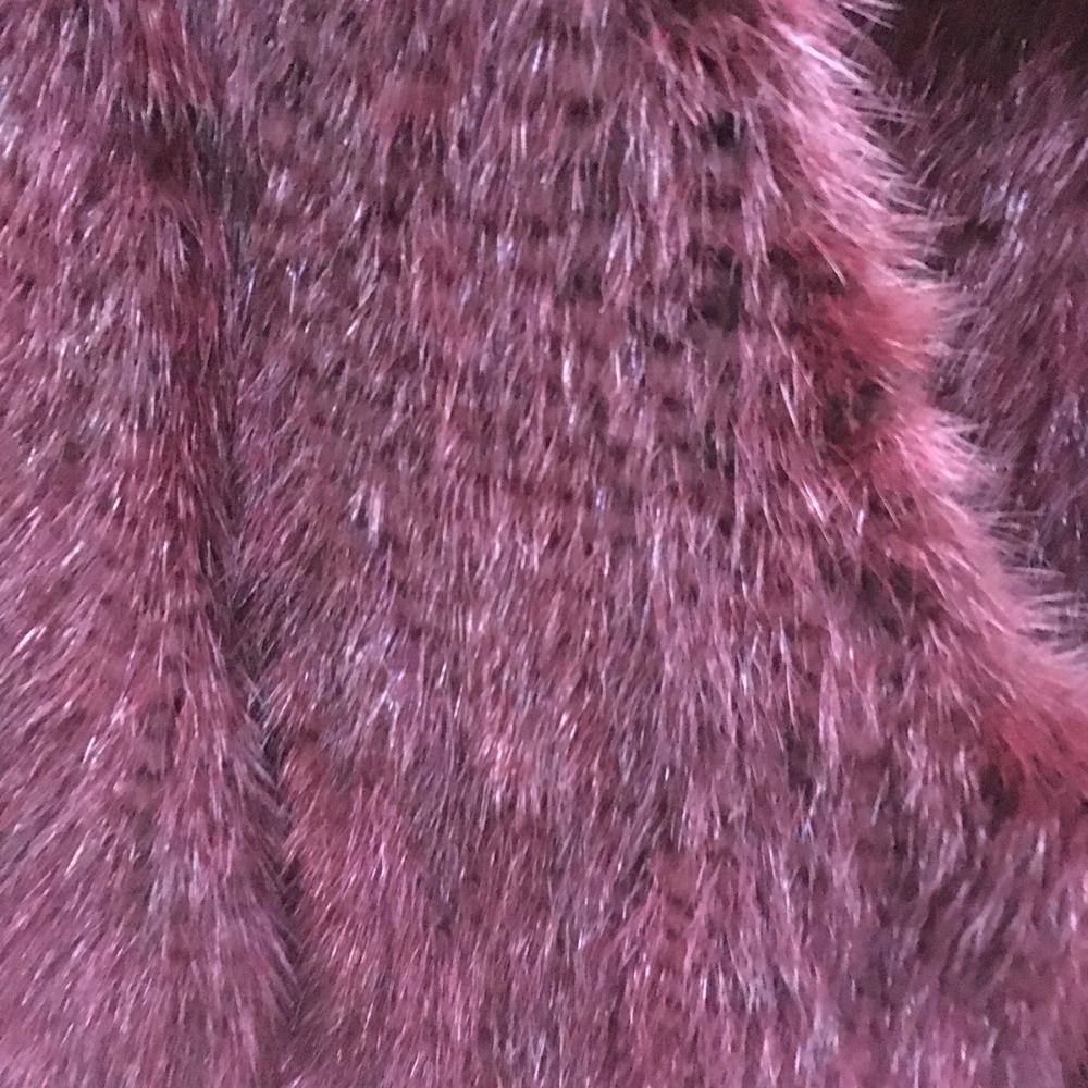 Et Avec Chaud Manteau Vison Vêtements 2018 Tricoté Réel color2 De Color1 Veste Fourrure Femmes Élégant wvZwzq0fnA