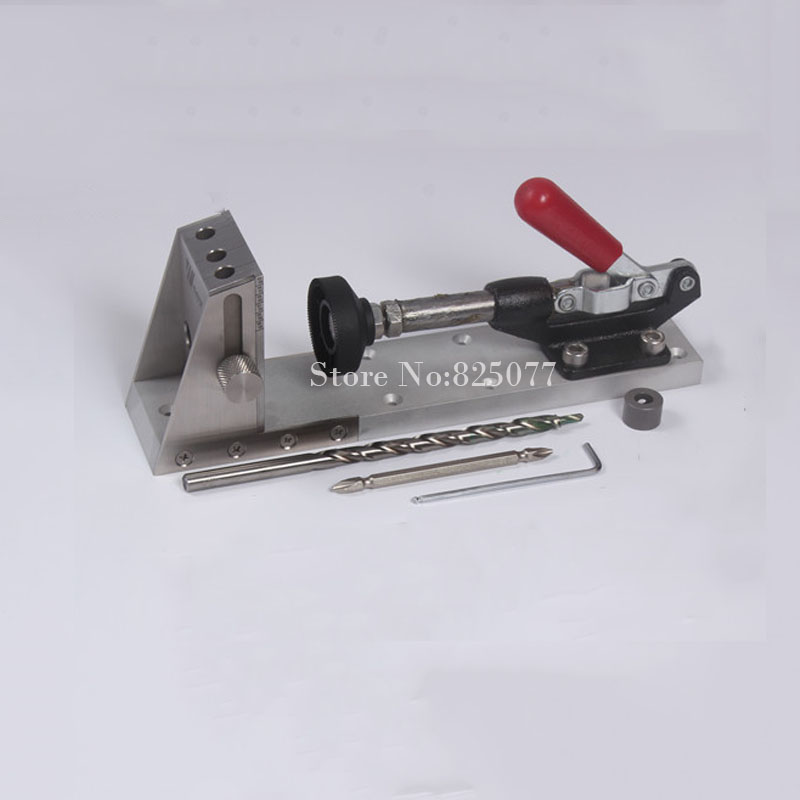 Pocket Hole Jig Kit Gr12Mov Mold Steel Heat Treatment With 9mm Step Drill Bit and Depth Stop Collar KF725 ha ha die mold manipulator accessories big big jig jig mold with a switch ha ha mold manipulator assembly