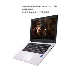 GMOLO 14 zoll ultrabook laptops Intel N3450 quad core prozessor 6 GB RAM64GB EMMC SSD 1 TB HDD HDMI kamera windows 10 laptop