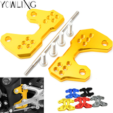 For Yamaha R3 R25 Rearsets Foot Pegs Mount Bracket Base for yamaha YZF-R3 ABS YZFR3 YZF Yzf-R25 MT25 MT03 2015 2016 15 16