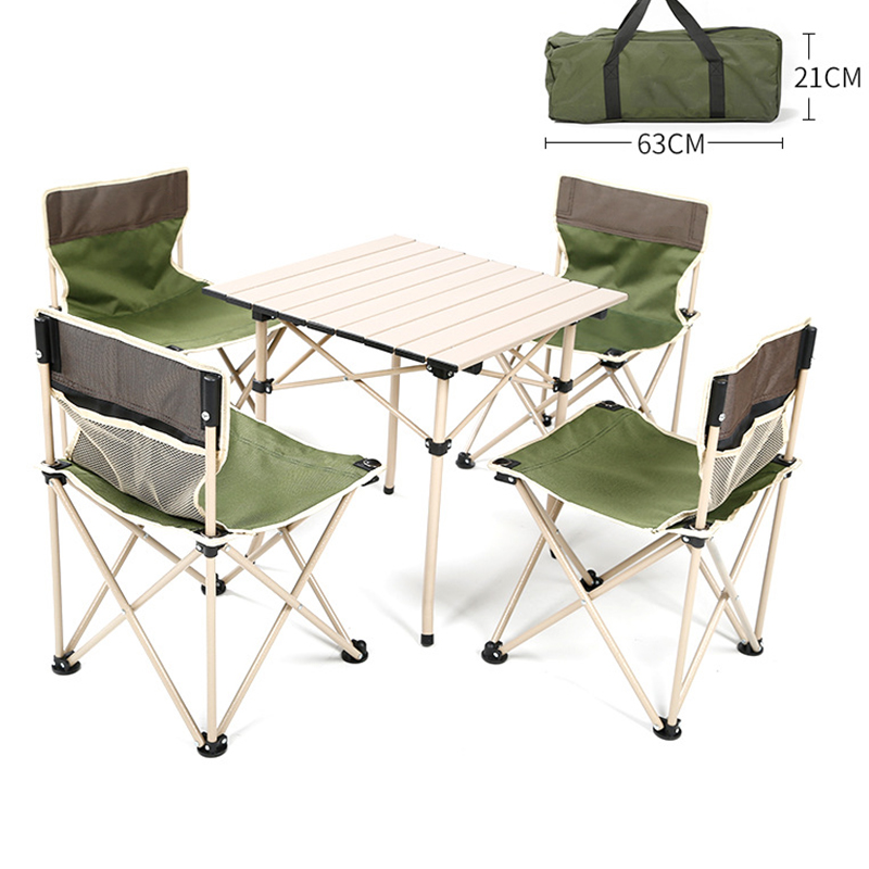 2018 Outdoor Folding Table Chair Camping Aluminium Alloy Picnic Table Waterproof Oxford cloth Durable Folding Table Desk For aluminum alloy portable outdoor tables garden folding desk with waterproof oxford cloth