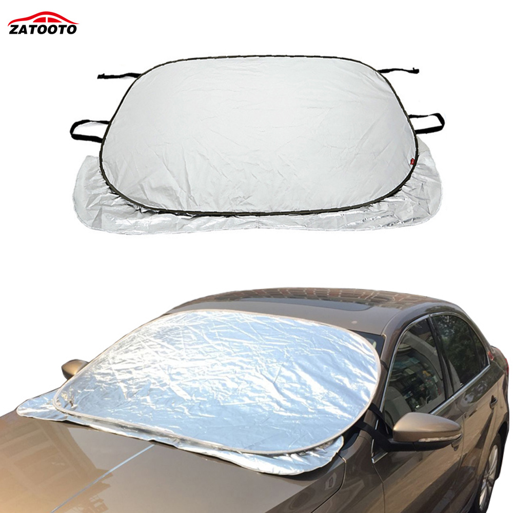 Foldable Car Front Rear Window Sun Shade Visor Windscreen Cover UV  Protection Multifunctional Car Snow Covers Auto Accessories 7cf20a62797