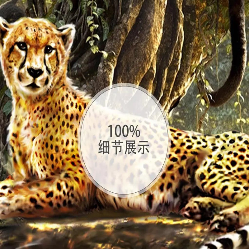 Custom wallpaper forest 3D animal world fresh children 39 s room background wall painting high grade waterproof material in Wallpapers from Home Improvement
