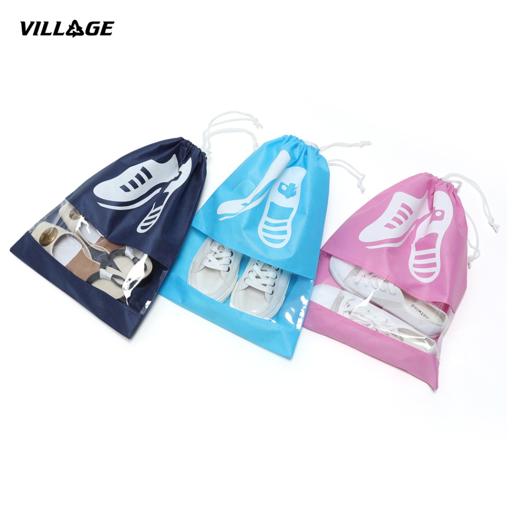 BAGHOME 100PCS/Lot Storage Organizer Bag Shoes for travel image