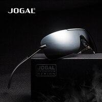JOGAL Marka Erkek Polarize Güneş Gözlüğü spor Aksesuarları Óculos Sürüş Gözlüğü Alüminyum Magnezyum Erkek aviator güneş gözlükleri JG08017