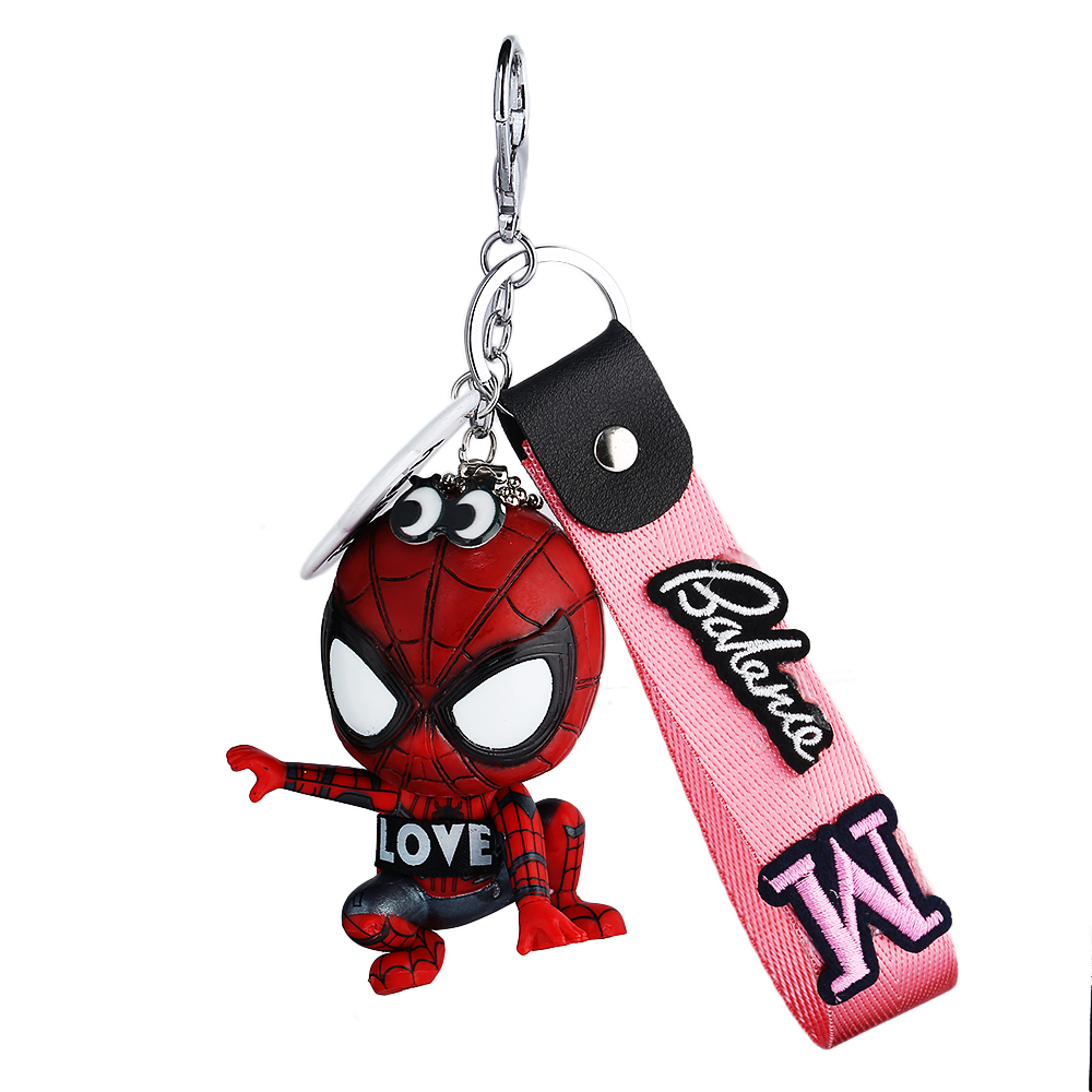 Movie Spider Man Keychain Hero Homecoming Car Key Ring Pendant Spiderman Keychains Toys Women Men Jewelry Trinket