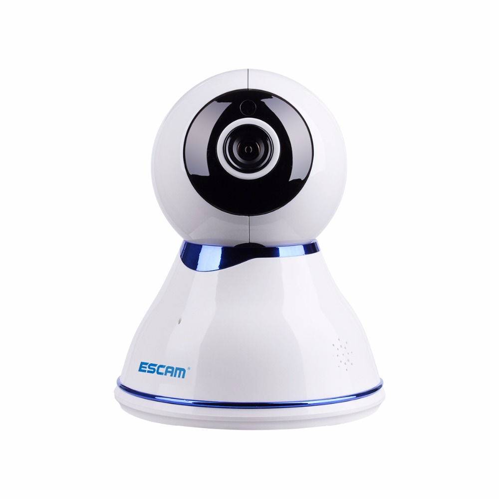 Escam QF507 HD 1080P Wireless IP Camera Day/Night Vision P2P WIFI Indoor Infrared Security Surveillance CCTV Mini Dome Camera 3pcs escam hd3100 1080p ip surveillance camera ir range 20m 2 0 megapixel waterproof day night 24 infrared led night vision