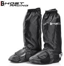 Motorcycle Waterproof Rain Shoes Covers Adjustable Tightness Reusable Non-slip Black Boots Cover