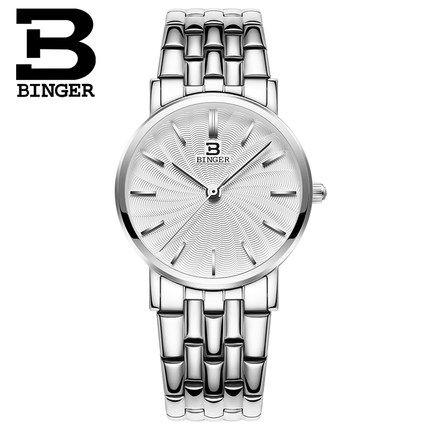 ФОТО Switzerland 2017 New Luxury Brand Binger Dress Watches Woman Quartz Clock Girl Wrist Watch Relogio Masculino