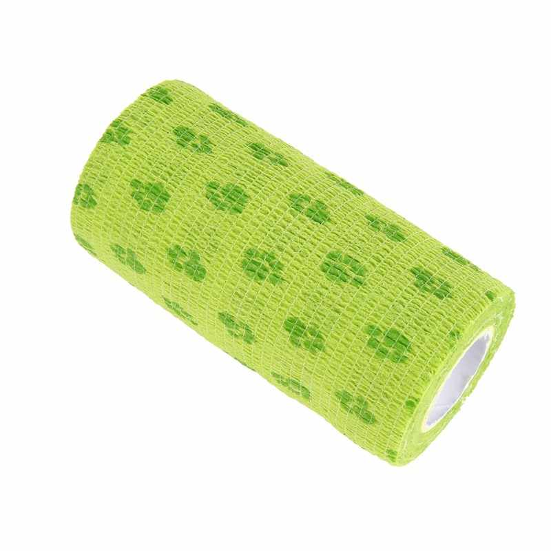 Multifunctional Pet Dog Bandage Breathable Puppy Cat Non-Woven Fabrics Self-adhesive Elastic Medical Bandage