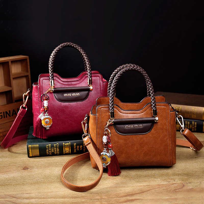 4f29d8a5b534 Роскошная женская сумка через плечо брендовая классическая черная сумка из  натуральной кожи для женщин мягкая кожаная