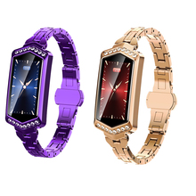 B78 Smart Watch Women IP67 Waterproof Heart Rate Blood Pressure Fitness Bracelet Physiological Cycle Reminder Smartwatch