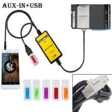 Cable-Adapter Aux-Cable Mazda Radio-Interface Audio Auto Car Usb for Mpv/miata 2--6pin