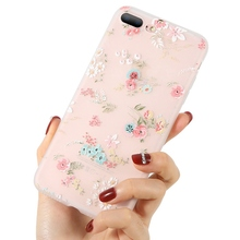 KISSCASE Floral Patterns Phone Cases For iPhone 5 5s SE 6 6s 7 8 Plus Cover  Small Fresh Phone Cases For iPhone X XS MAX XR Capa цена и фото