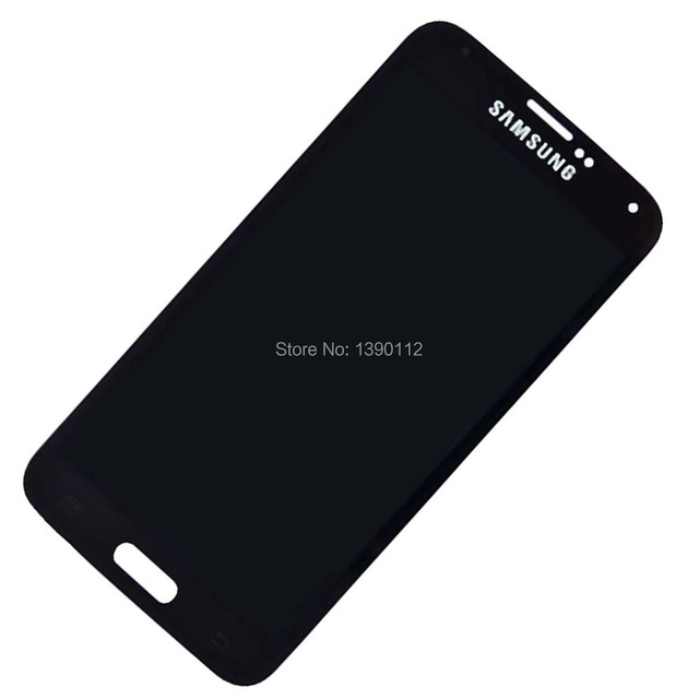 Touch Screen Digitizer + LCD Replacement for Samsung Galaxy S5 SM-G900V Black