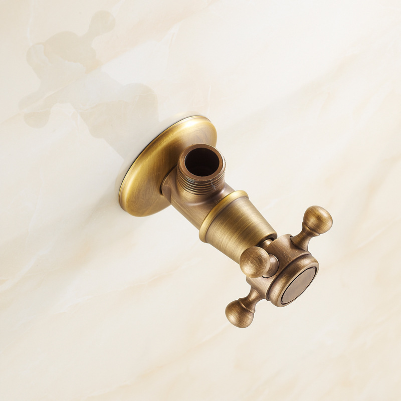 ФОТО Supply a full copper antique faucets Angle QEY - 8845 models