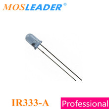 Mosleader IR333 A 1000 ADET 2 parsel 5 MM Mavi IR333 5mm Kızılötesi LED T 1 3/4 940NM