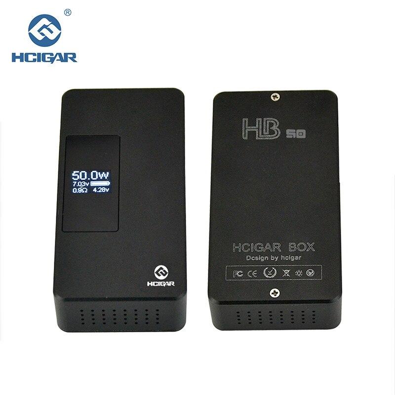Originale Hcigar HB-50 Scatola di controllo di Gravità Mod. 7-50 W regolazione di Potenza Variabile APV Mod sigaretta elettronica