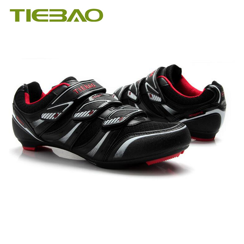 Купить с кэшбэком Tiebao sapatilha ciclismo road bike shoes outdoor self-locking breathable Athletic bicycle riding shoes superstar bike sneakers