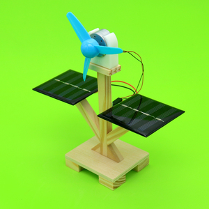 1set DIY Solar Fan Model Assem