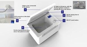 Image 2 - 3/6 時間タイマー電子 UV ライト補聴器ドライヤー耳援助日常のメンテナンス除湿補聴器新援助乾燥ケース
