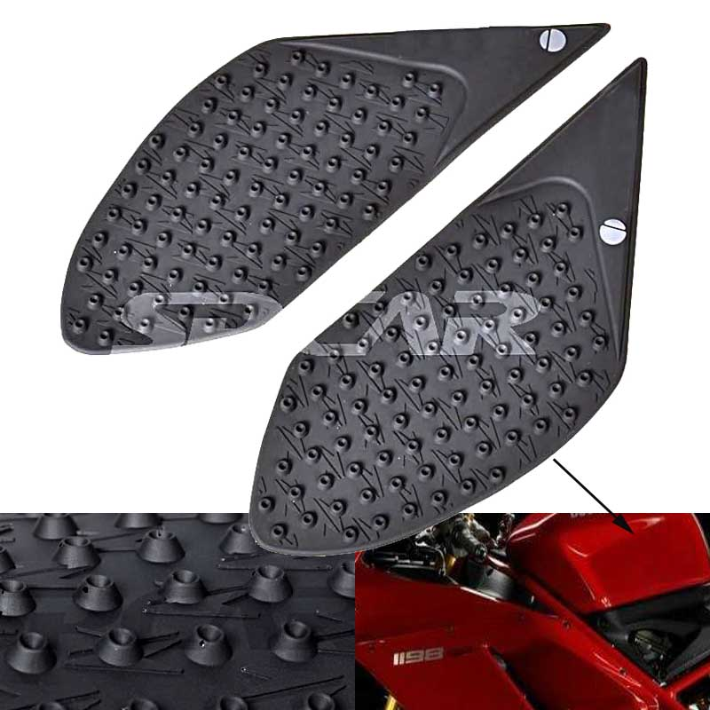 For DUCATI MONSTER 1200S MONSTER 821 Motorcycle Protector Anti slip Tank Pad Sticker Gas Knee Grip Traction Side 3M Decal