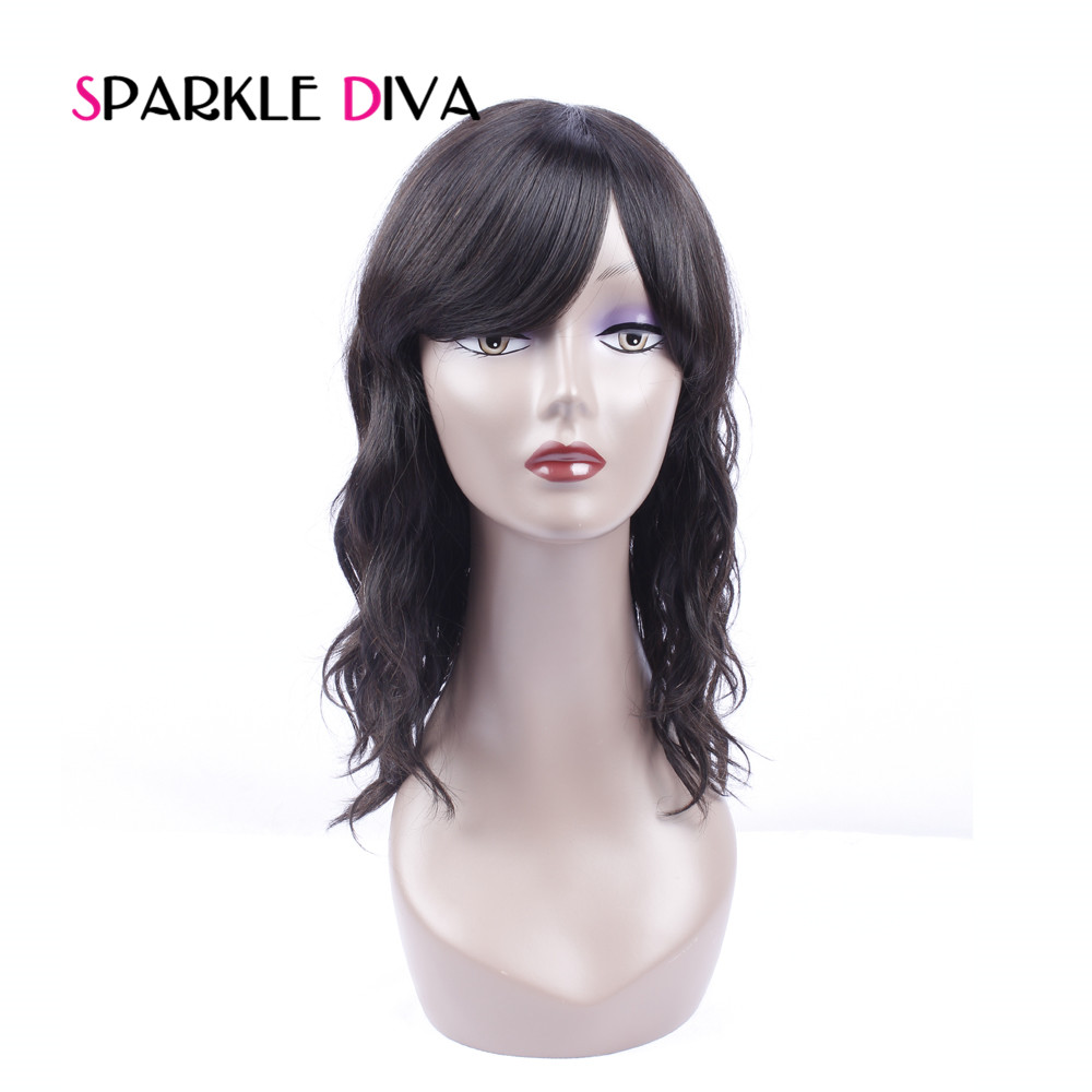 Peruvian Natural Wave Short Bob Human Hair Wigs Pre Plucked With Baby Hair Non Remy Hair Sexy Wigs SPARKLE DIVA ...