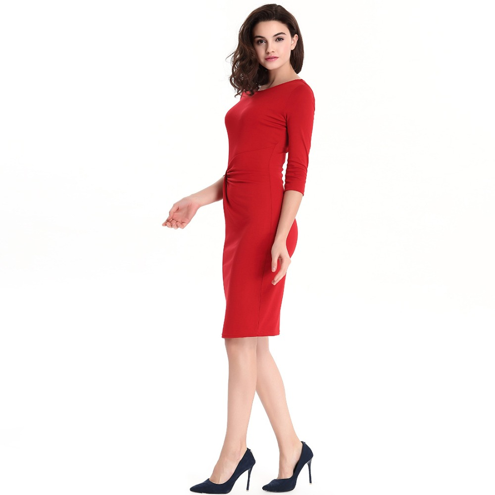 Compare Prices on Knee Length Business Dress- Online Shopping/Buy ...