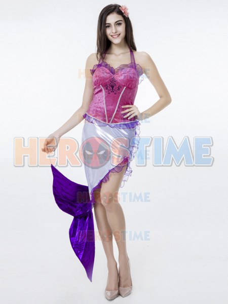 2017 New Arrive Cool Mermaid Costume Halloween Fancy Dress girl Mermaid Costume Performance Wear