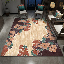6MM Chinese Living Room 3D Carpet Simple Flowers And Birds Style Sofa Study Bedroom Bedside Coffee Table Blanket