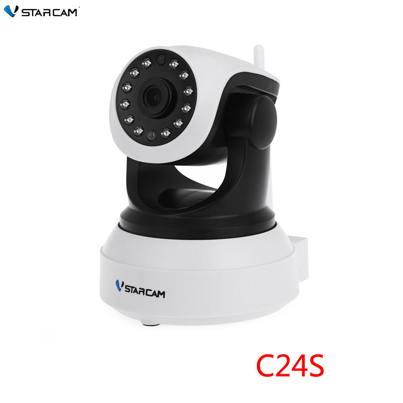 VStarcam CCTV 1080P 2MP HD Security IP Camera WifiI IR-Cut Night Vision Audio Recording Network Indoor Baby Monitor,SN: C24S eazzy bc 688 bulb cctv security dvr camera auto control light and recording motion dection night vision circular storage