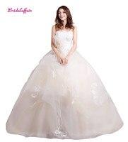 Тюлевые Свадебные платья без бретелек бальное платье Свадебные платья 2018 trouwjurk robe mariee Свадебные платья 2018 свадебное платье