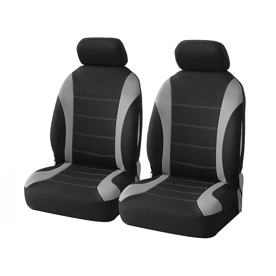 Universal Car Seat Cover Automobile Seat Covers High Quality Polyester Fabric Vehicle Seat Protector Interior Accessories