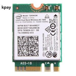 Image 1 - ラップトップ無線 Lan インテル 7265NGW デュアルバンドワイヤレス AC 7265 867 150mbps 802.11ac 2 × 2 WiFi + Bluetooth BT 4.0 NGFF M.2 ミニカード