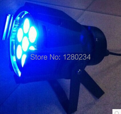 10pcs/lot china online wholesale 7*10W 4 in 1 RGBW led flat par can light for concert magnum live in concert
