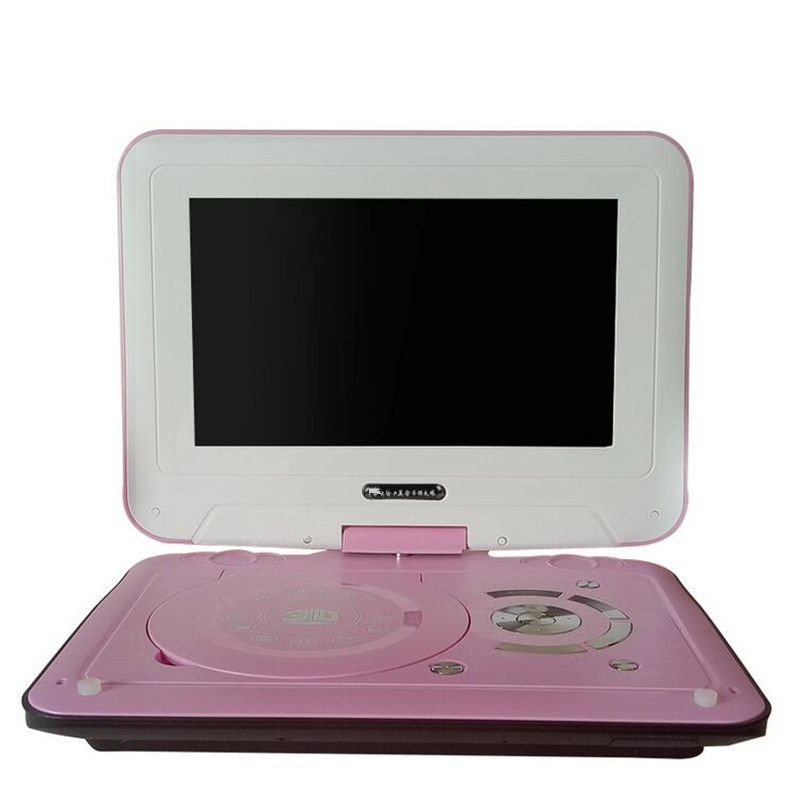12 inch hd mobile dvd player with small tv portable evd. Black Bedroom Furniture Sets. Home Design Ideas