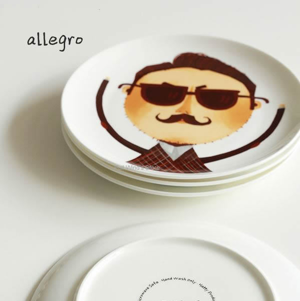Cute cartoon Dishes Steak Plate Dishe Plates Animal ceramic Child Dishs Personalized quality food dishes Fox Bear Tableware-in Dishes u0026 Plates from Home ...  sc 1 st  AliExpress.com & Cute cartoon Dishes Steak Plate Dishe Plates Animal ceramic Child ...