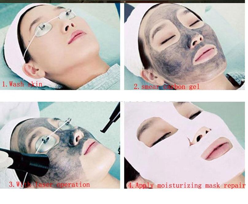 Image 3 - 300ml Soft Laser Carbon Cream gel for nd yag laser skin rejuvenation Whitening shrink pores-in Massage & Relaxation from Beauty & Health