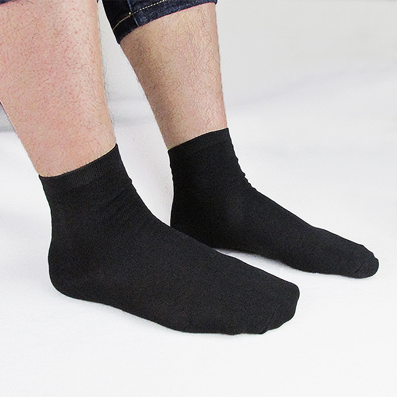 High Quality Men's Business Winter Cotton   Socks   For Man Brand Black Long Men's   Socks   Male White Casual Sell crazy office   Socks