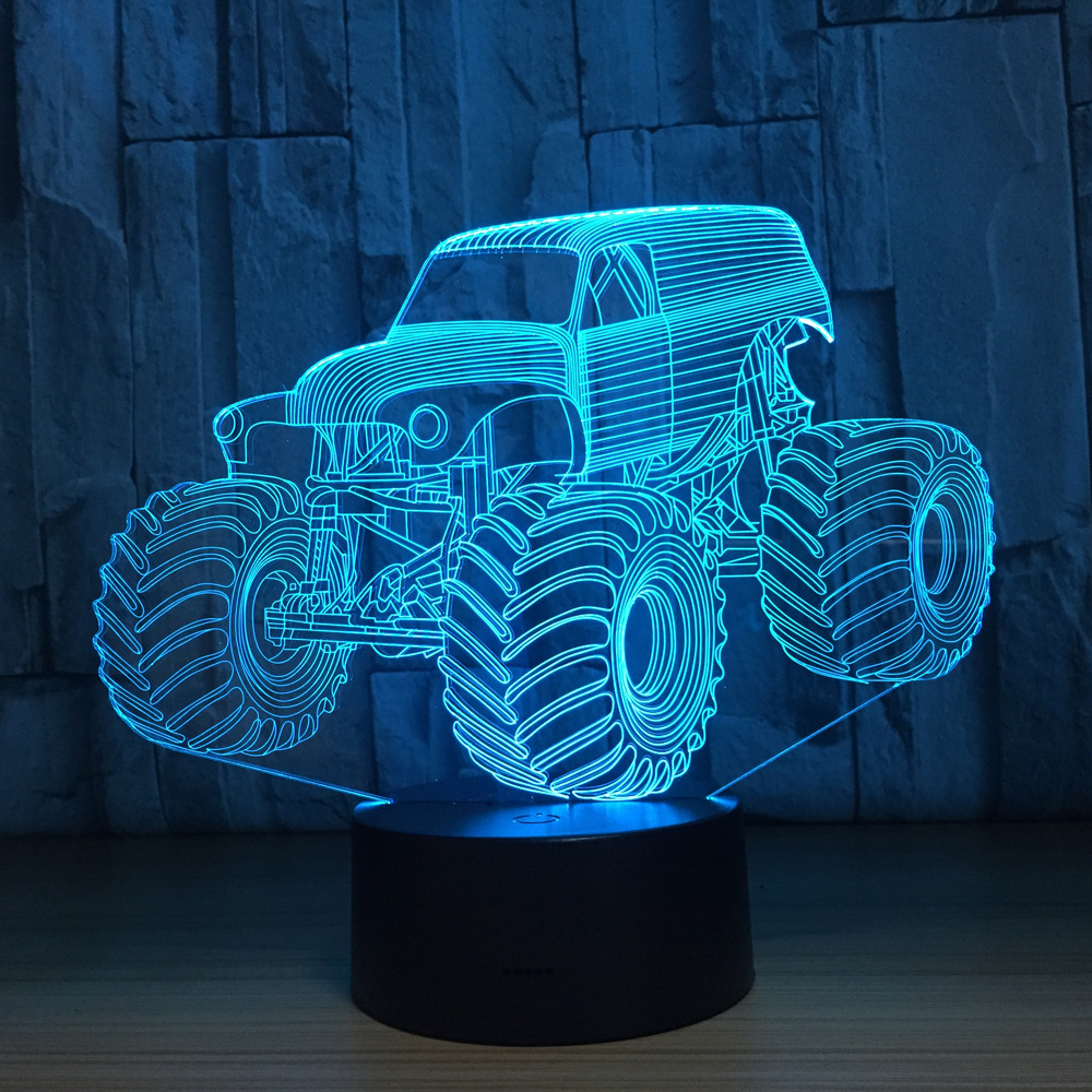 3D Colors Lamp Car Truck Shape Auto 3D Hologram Home Illumination Bedroom Decor Desk Table Lamp Best New Year Gift Cool Light pakistan on the brink the future of pakistan afghanistan and the west