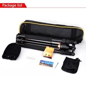 Image 5 - Trípode de cámara portátil profesional TRAVOR de 61 pulgadas, sistema de viaje portátil, trípode Horizontal para Canon Nikon Sony DSLR