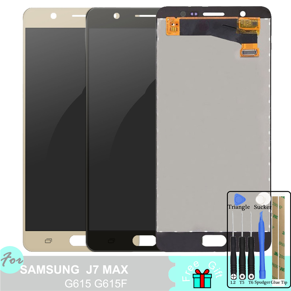 G615 TFT LCD Display for Samsung Galaxy J7 Max 2017 G615 G615F Touch Screen Digitizer Assembly Adjust BacklightG615 TFT LCD Display for Samsung Galaxy J7 Max 2017 G615 G615F Touch Screen Digitizer Assembly Adjust Backlight