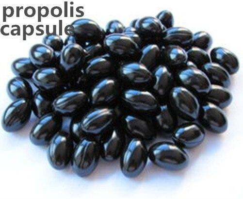 Buy three get one free Export quality natural Propolis capsule 100softgel Improve immunity Lower blood pressure/Enhance immunity  цены онлайн