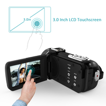 Andoer HDV-Z20 Digital Video Camera  Full HD 1080P 24MP WiFi 3.0″ Touch screen 16x Zoom Mini Camcorder DV camera digital video