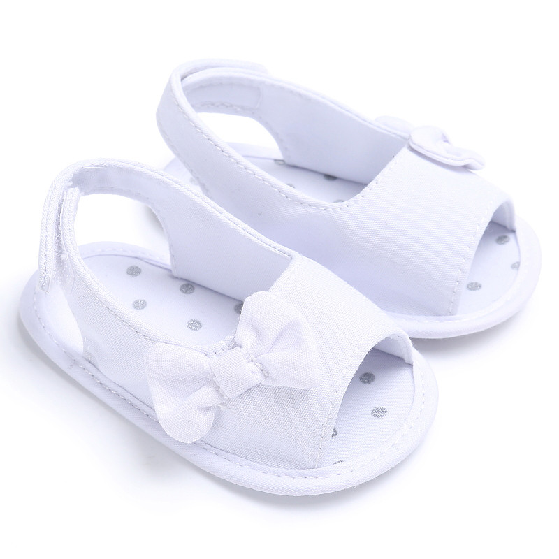 2017 100% Brand new and high quality Newborn Girl Toddler Baby Soft Sole Bowknot Shoes Crib Prewalker Shoes LR3